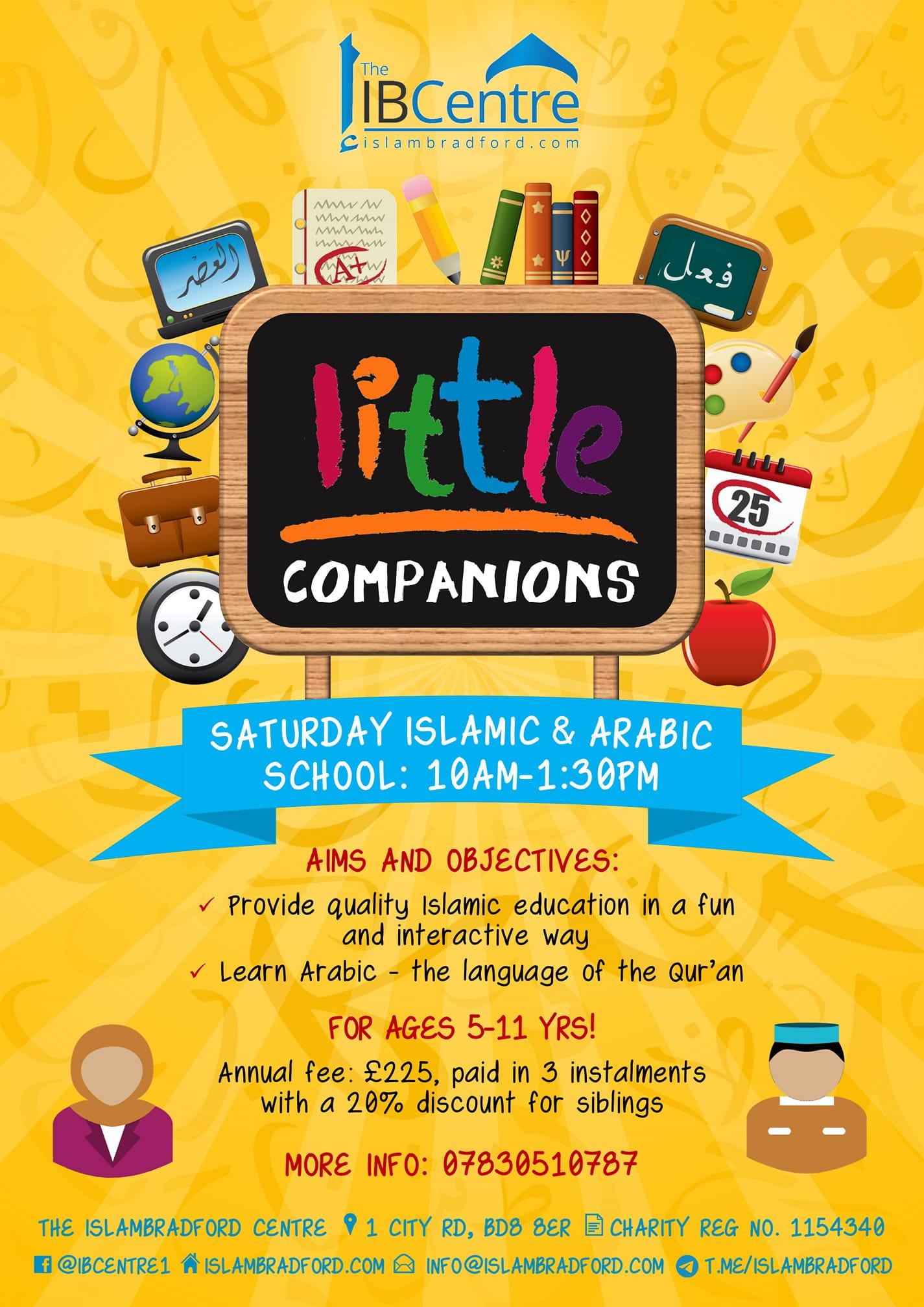 little companion time table
